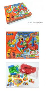Larva Animation Character Kids Toy Magic Beans Roller Coaster Battle Game Set