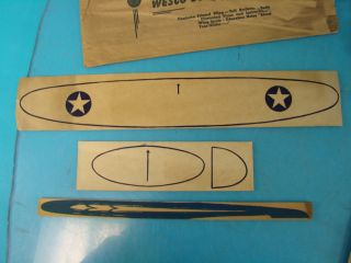 Vtg Lot 11 Wesco Super Glider Balsa Wood Airplanes Kits Paper Wings Kids Toy
