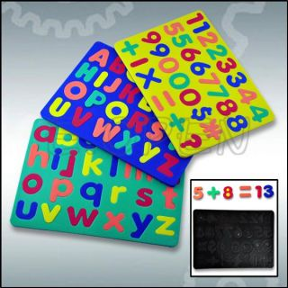 New Alphabet Letters and Numbers Magnet Magnetic Set