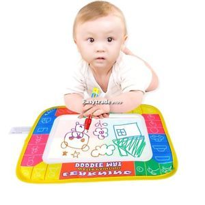 ESY1 Water Drawing Painting Writing Board Play Mat 29x19cm Magic Pen Kids Toys