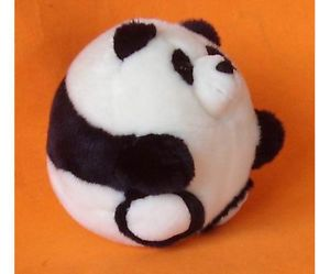 "18cm 7"" Kid's Girl's Boy's Plush Cute Stuffed Animal Doll Toy Squabby Panda Bear"
