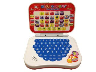 Pre School Computer Children Child Kids Educational Play Read Game Toy