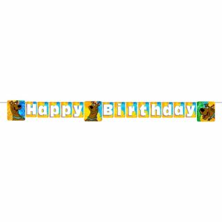 Scooby Doo Scooby Doo Happy Birthday Party Decoration Banner Hallmark BNR
