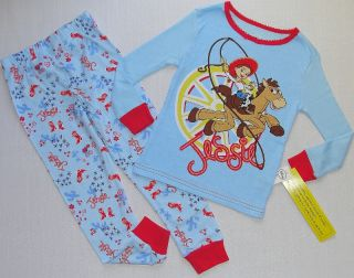 Disney Toy Story Jessie and Bullseye Girl's Size 3 4 5 or 6 Pajama Set New