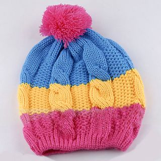 New Cute Baby Girls Boys Kids Children Stretchy Winter Nice Warm Hat Cap Beanie