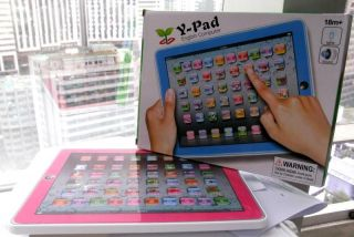 Y Pad English Children Learning Touch Screen Tablet Learning Toy for Kids Baby