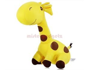 "New 9 8"" inches Cute Yellow Giraffe Stuffed Toy Plush Doll for Kids"