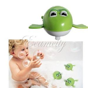 Cute Wind Up Diver Swimming Frog Baby Kids Child Water Pool Bath Swim Party Toy