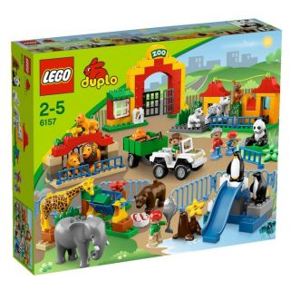 Morensave Lego Duplo Big Zoo 6157 New Free FedEx Blocks Bricks Toys Gifts 673419166348