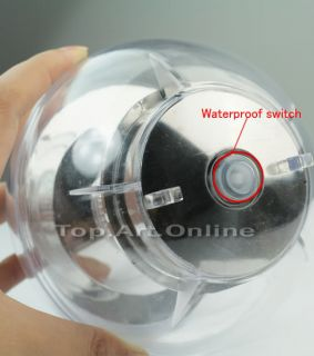 Multicolor Solar Floating Swimming Water Pool LED Light