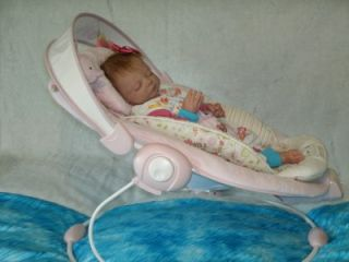 Gorgeous Baby Girl's Papasan Musical Vibrating Soother Bouncer by Bright Starts