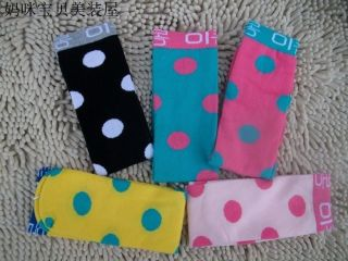 New Fashion Kids Toddlers Girls Soft Knee High Socks 2 8years Tights Legging Dot