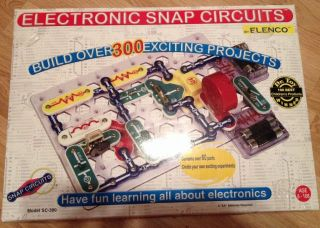 Electronic Snap Circuits Science Electricity Projects Kit Kids Toy Educational