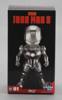 Kids Logic Marvel Iron Man 3 Mini LED Mark II MK2 Figure Pendant