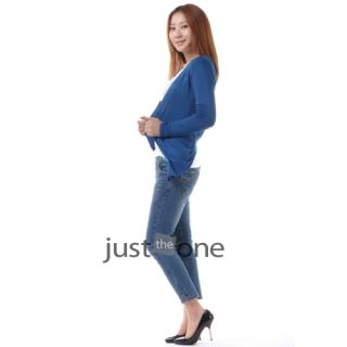Trendy Women Ladies Slim Long Sleeve Knitwear Casual Sweater Cardigan Tops s M