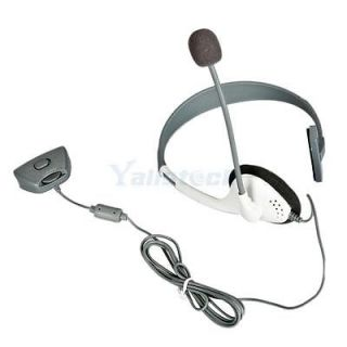 Live Headset with Microphone White Black Silicone Skin Case Cover for Xbox 360