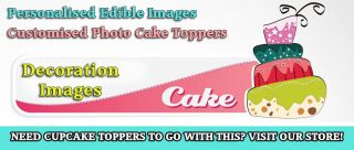 1 One Direction Personalised Edible Icing Party Cake Decoration Topper Image