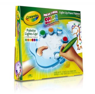 New Crayola Color Wonder Light Up Paint Palette Toys Kids Toddlers Boys Girls