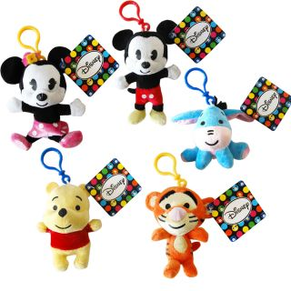Disney Characters Soft Plush Toys Winnie The Pooh Mickey Mouse Cartoon Kids Cool