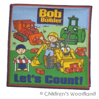 Bob The Builder Cloth Soft Book Kids Baby Toddler
