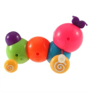 Funny Cute Baby Kids Colorful Inchworm Twist Forward Movement Toy D9