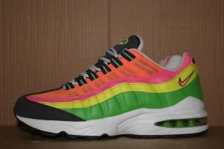 Nike Air Max 95 Rainbow Basketball Shoes Airmax 1 Youth 6Y Women's 8