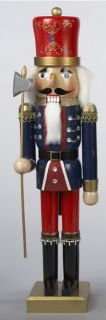 Kurt Adler Christmas Holiday Wooden Nutcracker Soldier