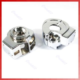 Chrome Switch Housings for Harley Electra Glide Street