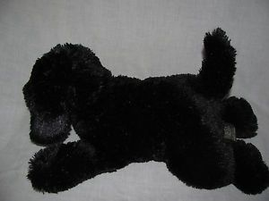 Eddie Bauer Plush Black Lab Puppy Dog Floppy Stuffed Toy