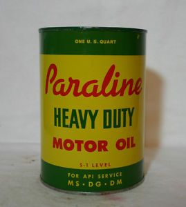 Paraline Heavy Duty Motor Oil Can