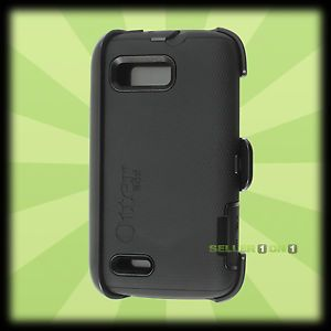 Otterbox Motorola Atrix 2 Defender Case Holster Black Shell Cover Belt Clip