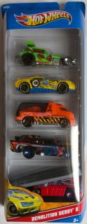 Hot Wheels 5 Pack Diecast Cars Assorted Packs to Choose from New in Box