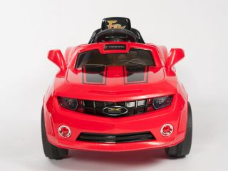 Kids Red Camaro Style Ride on RC Car Remote Control Electric Power Wheels