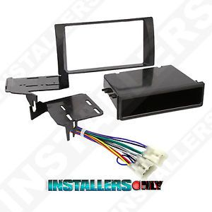 Camry Car Stereo Single Double 2 D DIN Radio Install Dash Kit w Wires 99 8231