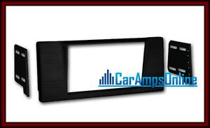 ★ E39 Double DIN Car Stereo Dash Mounting Install Kit Radio Installation Trim ★
