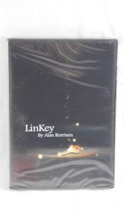 New Linkey by Alan Rorrison Magic Trick Instructional DVD with Gimmick Keys