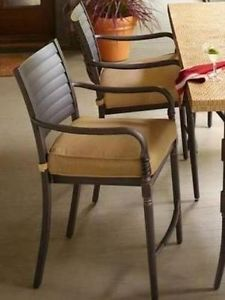 Hampton Bay Madison Patio High Dining Chair Set 6 Chairs Only