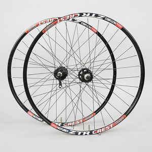 "Stan's No Tubes ZTR Crest Mountain Bike Wheel Set 26"" 3 30 Hubs Disc Tubeless"