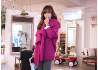 Women's Winter Fashion Knitted Coat Tops Cardigan Casual Warm Sweater Knitwear