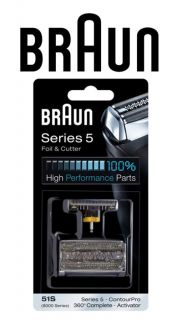 Braun 5 Series 51S 8000 Series Replacement Pack Foil Cutter Brand New