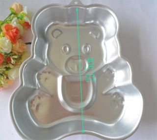1pcs Aluminum Bear Shape Cake Pan Baking Mold Cake Mold