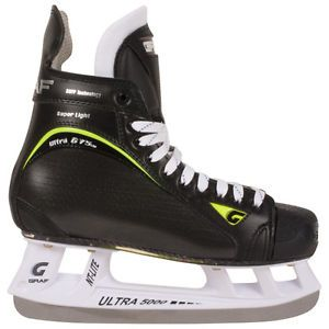 New Graf G75 Ultra Light Senior Ice Hockey Skates Size 9R