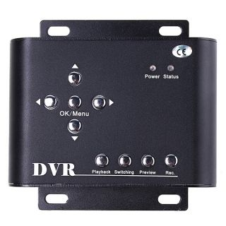 2CH Mini Video Recorder CCTV Wired DVR Motion Detection