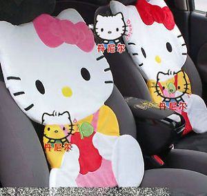 Hello Kitty Multi Use Seat Cover Cushion Set Apple Design Car Home Office Use