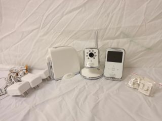 Summer Infant Peek Plus Internet Baby Monitor System Camera Set White 02230