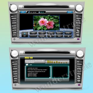 "7"" Car DVD Player GPS Navigation Radio for Subaru Outback Legacy 3G Internet"