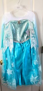 Princess Elsa Frozen Dress Size 7 8 Costume Sold Out Everywhere