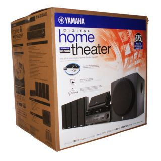New Yamaha Audio YHT 799U 5 1 Channel Home Theater Speaker System YHT 799UBL
