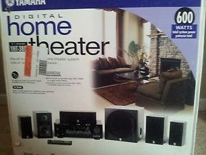 Yamaha YHT 380 5 1 Channel Home Theater System