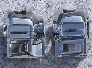 2005 2007 Suzuki Hayabusa busa Chrome Switch Housings